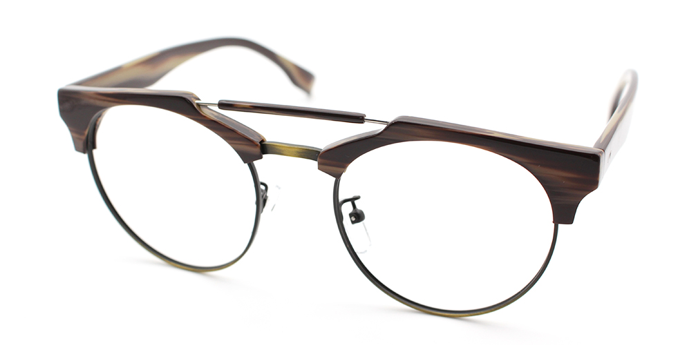 Prescription Glasses A114  DEMI BROWNC3