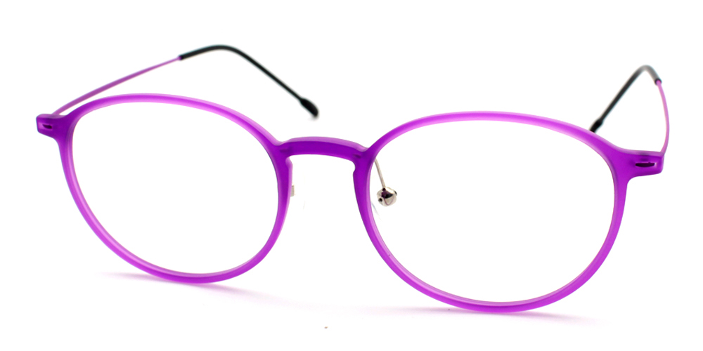 Prescription Glasses TRM3301 PURPLE C6